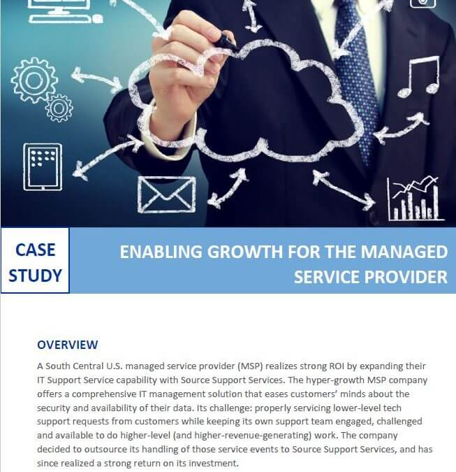 Enabling Growth for the Managed Service Provider