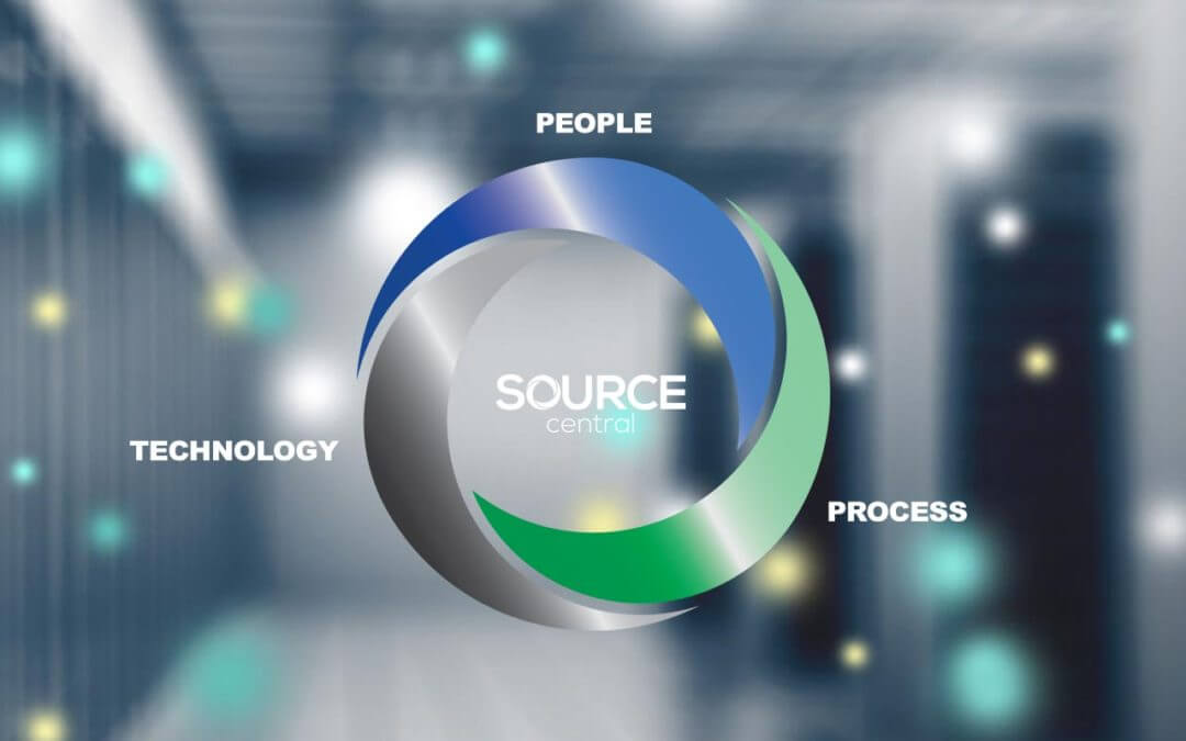 source central people technology process graphic