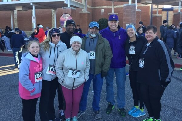 employees at Will to Live 5k 2017