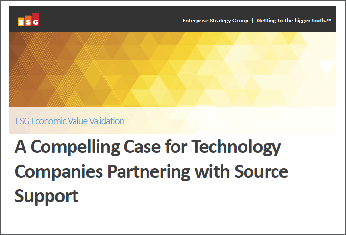 A Compelling Case for Technology Companies Partnering with Source Support