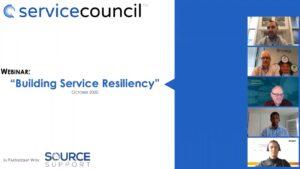 Building Service Resiliency Webinar October 2020